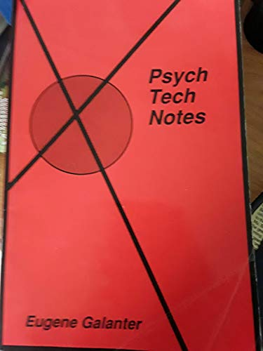 9780937431023: Psych Tech Notes