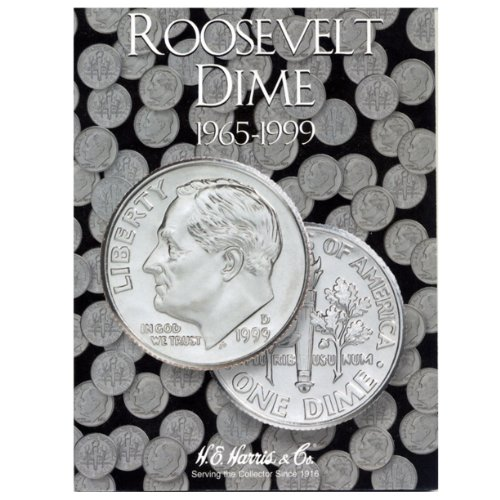 9780937458136: Whitman Roosevelt Dime Coin Folder: 1965-1999