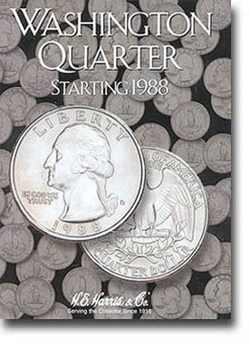 9780937458204: Washington Quarters Folder Starting 1988-1998