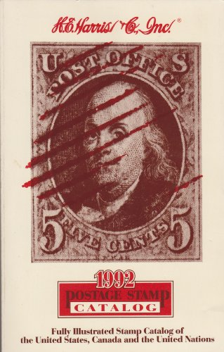 1992 H.E. Harris Postage Stamp Catalog