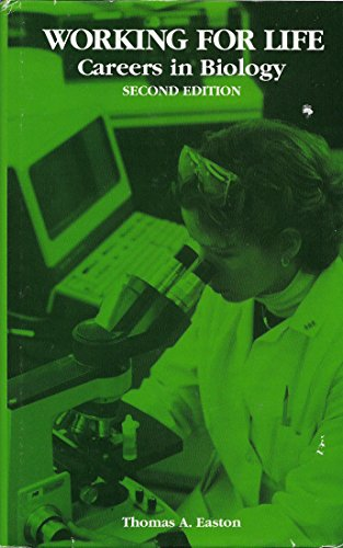 9780937548097: Working for Life: Careers in Biology