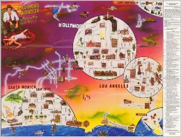 9780937609002: The Raymond Chandler Mystery Map of Los Angeles