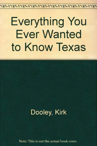 Everything You Ever Wanted to Know about: Kirk Dooley