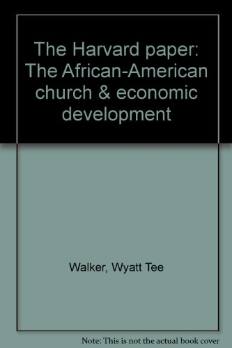 9780937644249: The Harvard paper: The African-American church & economic development