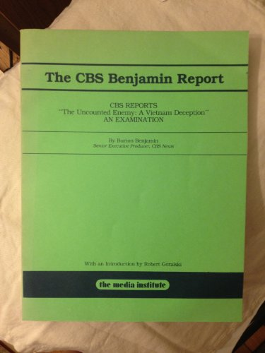 9780937790243: The CBS Benjamin report: CBS reports :