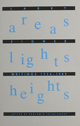 9780937804339: Areas Lights Heights: Writings 1954-1989 (Springer Proceedings in Physics; 48)