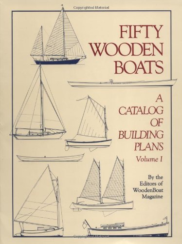 9780937822074: Fifty Wooden Boats: A Catalog of Building Plans #325-060