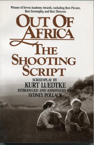 9780937858844: Out of Africa: Shooting Script