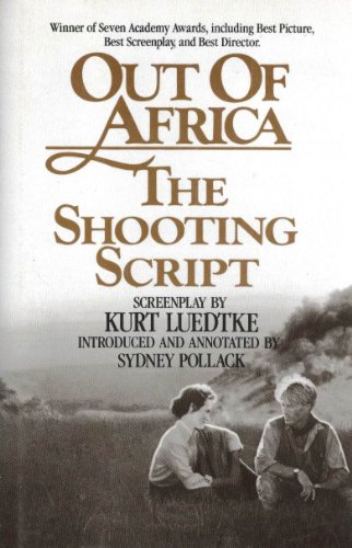 9780937858851: Out of Africa: The Shooting Script