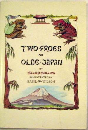 Two Frogs of Olde Japan
