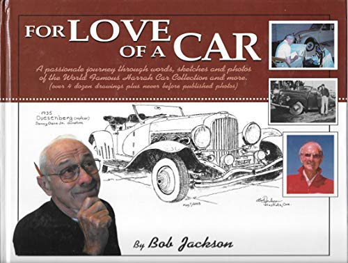 For Love Of A Car (0937861650) by Bob Jackson