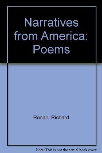 9780937872048: Narratives from America: Poems
