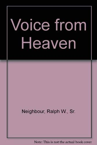 9780937931042: A Voice from Heaven
