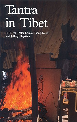 Tantra in Tibet (Wisdom of Tibet Series) (9780937938492) by Dalai Lama; Tsong-Kha-Pa; Jeffrey Hopkins