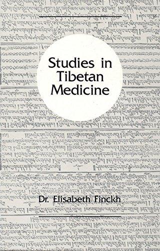 Studies in Tibetan Medicine: Finckh, Elisabeth
