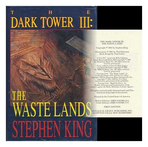 9780937986172: The Waste Lands (The Dark Tower, Book 3)