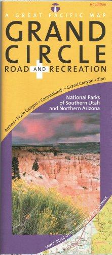 Utah's Grand Circle Road & Recreation Map: National Parks of Southern Utah & Northern ...
