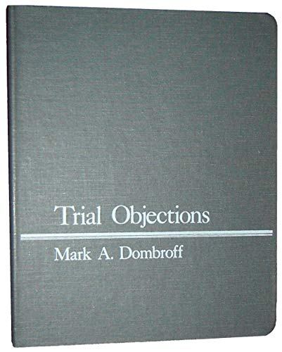 9780938065081: Trial objections