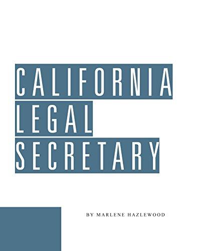 California Legal Secretary: Marlene Hazelwood