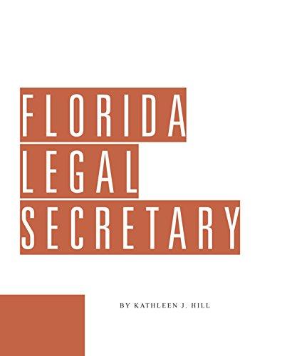 9780938065272: Florida Legal Secretary's Guide