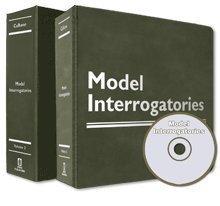 9780938065333: Model Interrogatories