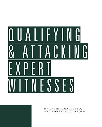 9780938065395: Qualifying and Attacking Expert Witnesses