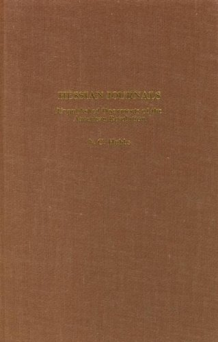 HESSIAN JOURNALS - Unpublished Documents of the American Revolution: Hubbs, Valentine C. ed.