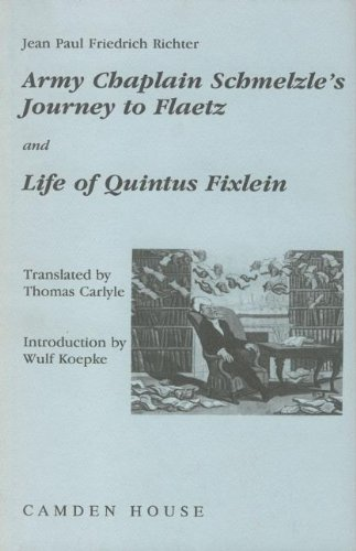 Army-Chaplain Schmelzle's Journey to Flaetz and Life: Jean Paul Friedrich