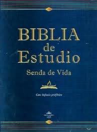 9780938127949: Biblia De Estudio Senda De Vida Tapa Dura