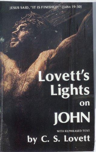 9780938148241: Lovett's Lights on John