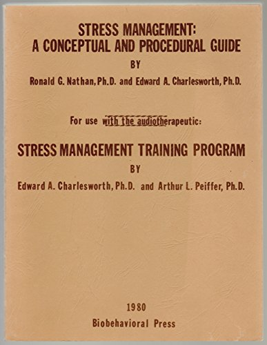 9780938176015: Stress Management: A Conceptual and Procedural Guide