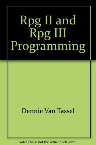 9780938188261: RPG II and RPG III programming