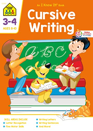 9780938256021: Cursive Writing Workbook Grades 3-4 (An I know it book)