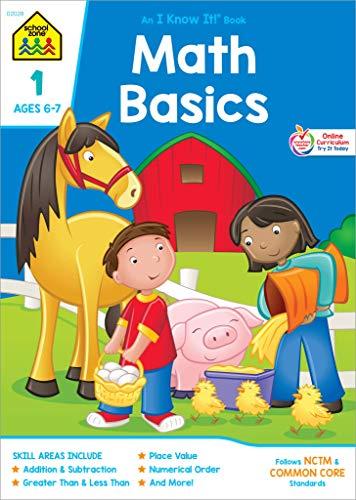 9780938256281: Math Basics Workbook Grade 1