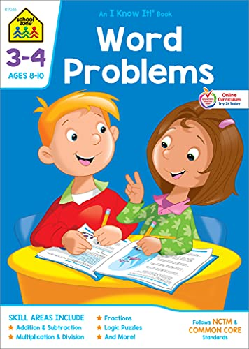 9780938256465: Word Problems 3-4 (I Know It! Books)