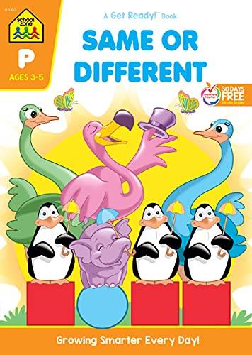 9780938256526: Same or Different Workbook Grade P (Get Ready Books)