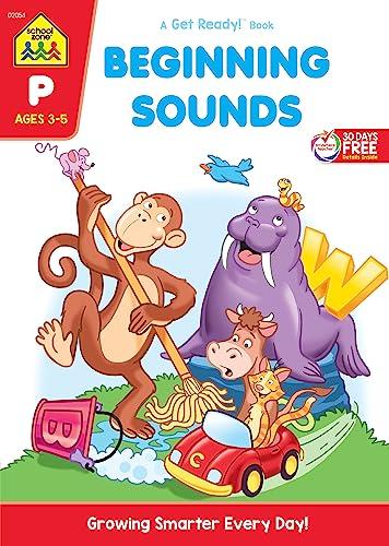 9780938256540: Beginning Sounds Workbook Grade P (Get Ready Books)