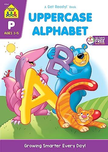 Uppercase Alphabet, Ages 3-5 (A Get Ready!: Gregorich, Barbara