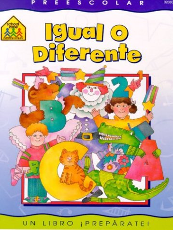 9780938256809: Same or Different (en español)