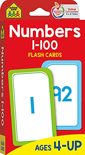 9780938256908: Flash Cards-Numbers 1-100 50/Pkg