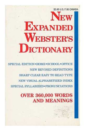 9780938261797: New Expanded Webster's Dictionary