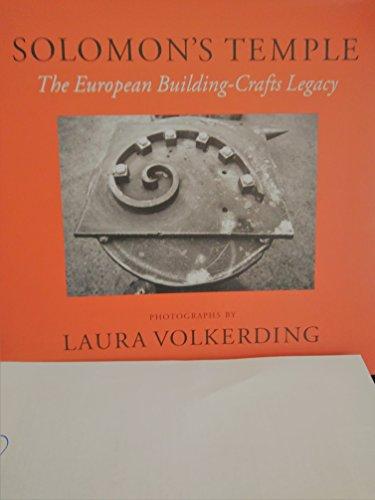 9780938262305: Solomon's Temple: The European Building-Crafts Legacy