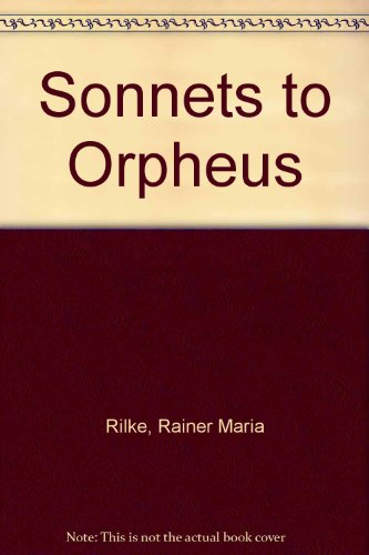 9780938266013: Sonnets to Orpheus