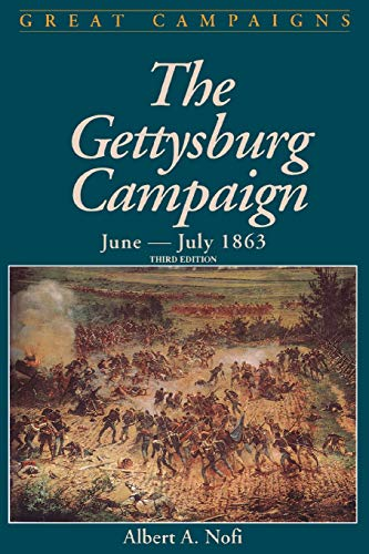 9780938289838: Gettysburg Campaign June-july 1863 (Great Campaigns)