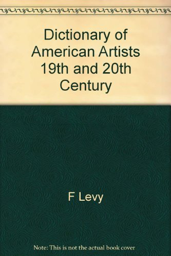 9780938290018: Dictionary of American Artists 19th and 20th Century: Reprinted from Vol. XXVI American Art Annual for the Year 1929.