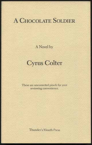 9780938410492: A Chocolate Soldier: A Novel (Contemporary Fiction Series)
