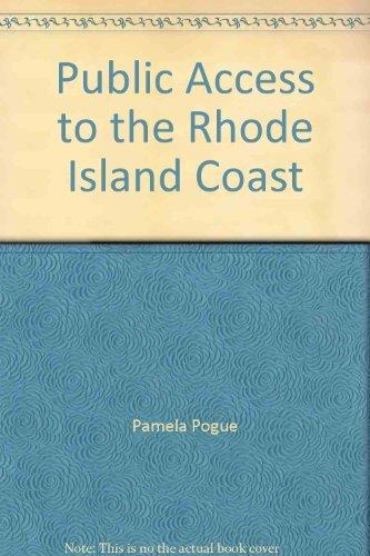 9780938412328: Public Access to the Rhode Island Coast