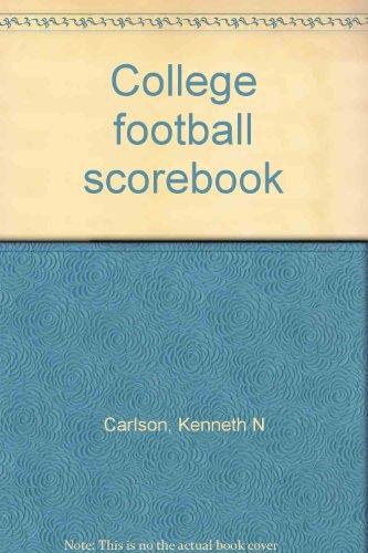 9780938428015: College football scorebook
