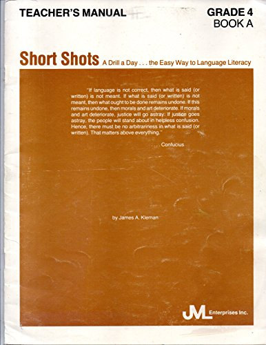 9780938464099: Short Shots