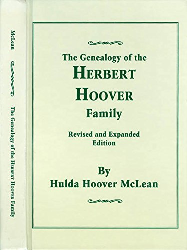 The Genealogy of the Herbert Hoover Family: Hoover, Hulda Hoover